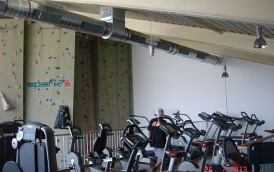 Kühlung Fitnessstudio